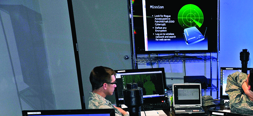 Cadets at the U.S. Air Force Academy spend one of their summer sessions in Cyber 256, Basic Cyber Operations.
