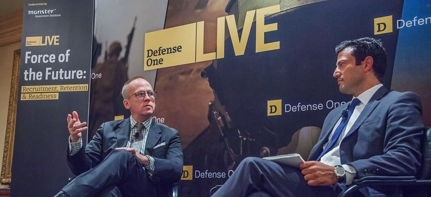 Acting Pentagon personnel chief Brad Carson headlined Defense One Live's Force of the Future event on June 9, 2015.