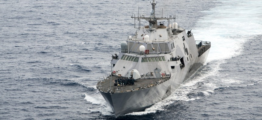 Saudi Arabia plans to buy a more powerful version of U.S. Navy's Freedom Class Littoral Combat Ship.