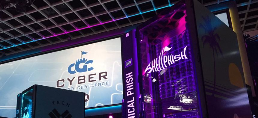 The Shellphish CPU at the DARPA Cyber Grand Challenge, 8/4/2016.