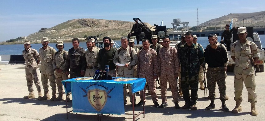 The Manbij Military Council.