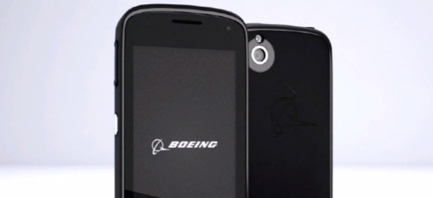 "The Boeing ""Black"" phone"
