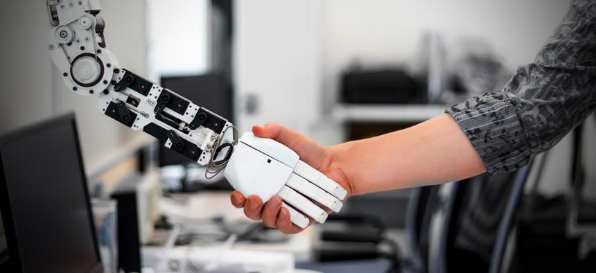 mechanized robot ha, ... ]