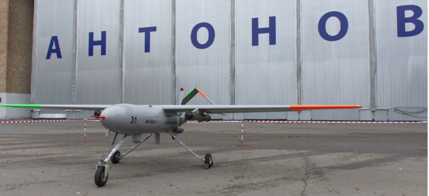the Antonov Gorlytsa drone, unveiled on November 8