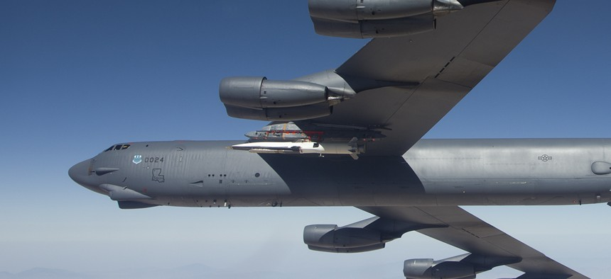 The X-51A Waverider flew its fourth and final mission May 1 over the Point Mugu Naval Air Warfare Center Sea Range May 1, 2013.