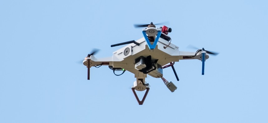 re spearheading efforts to get low-cost 3-D printed drones.