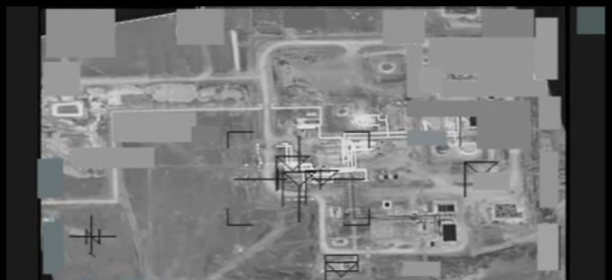 Coalition airstrikes on DAESH gas oil separation plant near Dayr Az Zawr, Syria.