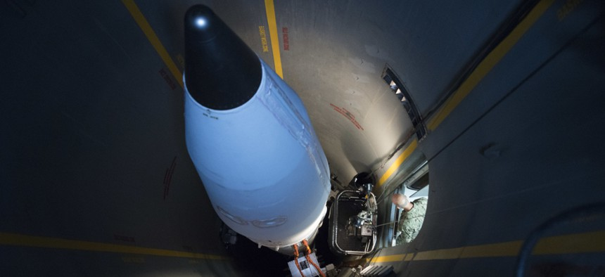 A Ground-Based Interceptor at Fort Greely, Alaska.