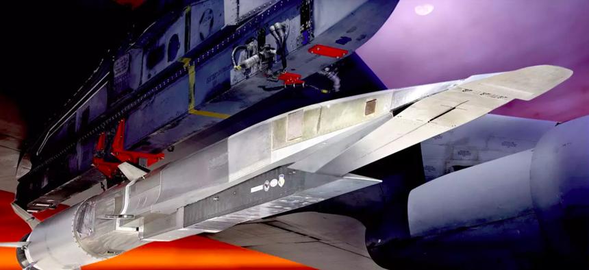 the X-51 Waveglider USAF