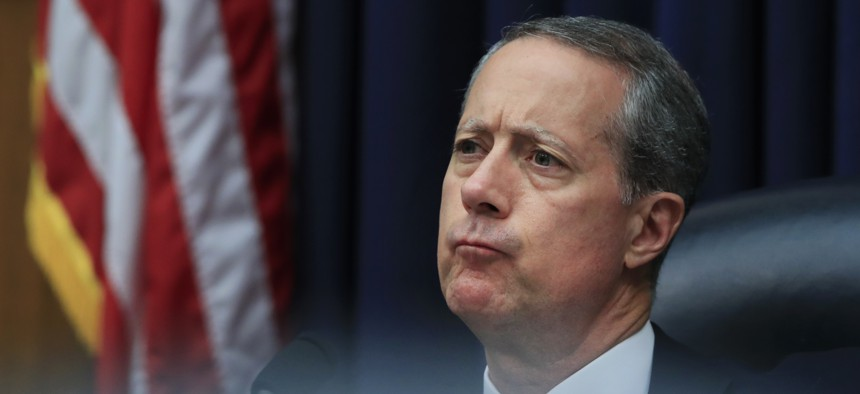 House Armed Services Committee Chairman Rep. Mac Thornberry, R-Texas, listens to testimony last year.