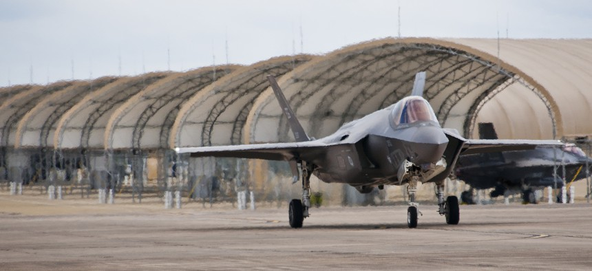 Thursday, a bipartisan group of senators introduced a bill to block the transfer of F-35 fighter jets to Turkey.