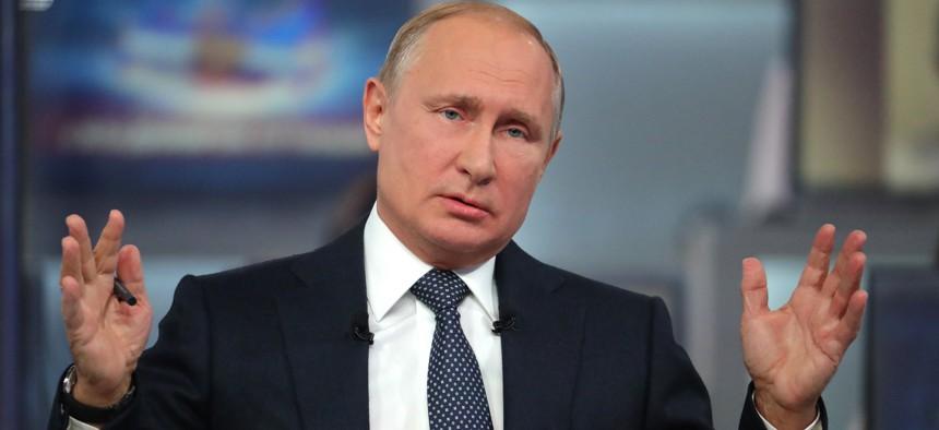Vladimire Putin.