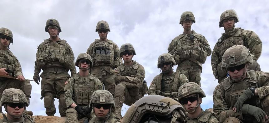 U.S. Army soldiers during Saber Strike 17