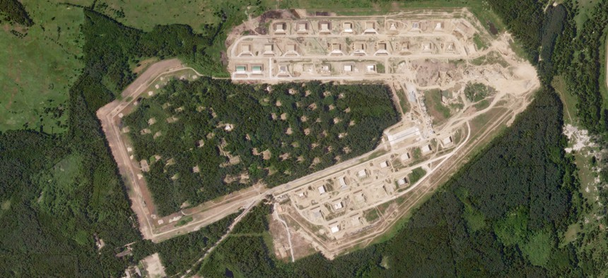 A munitions facility on the Russian exclave of Kaliningrad.