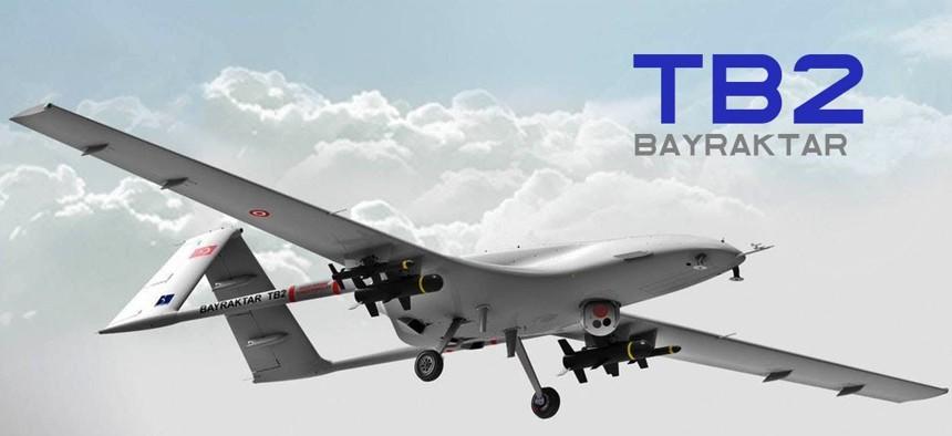 The Bayraktar TB2.