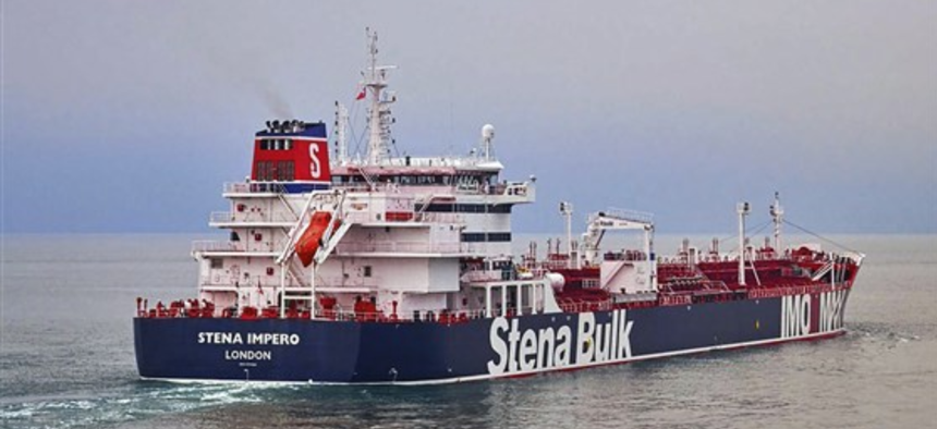 British oil tanker Stena Impero
