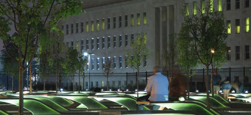 Outside the Pentagon