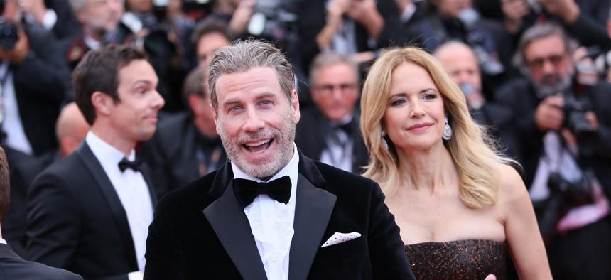 John Travolta at Cannes in 2018