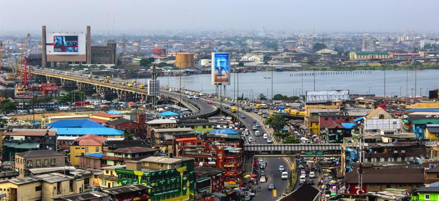 View of Lagos, Nigeria