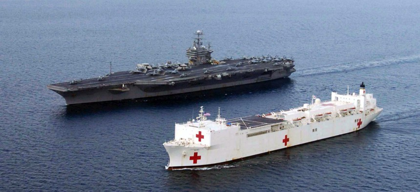 In 2005, USNS Mercy (T-AH 19) and USS Abraham Lincoln (CVN 72) were dispatched to Indonesia for Operation Unified Assistance, the humanitarian relief effort to aid the victims of the recent tsunami.