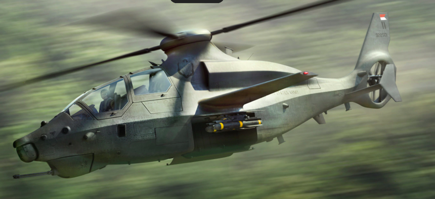 The Bell Textron concept helicopter