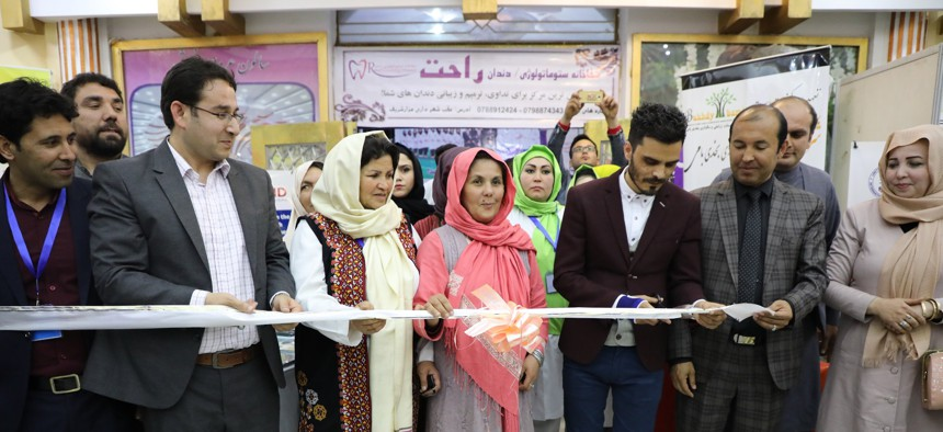 The second USAID Forward Together: Women in Business regional trade fair was held in March 2019 in Mazar-e-Sharif, Balkh Province.