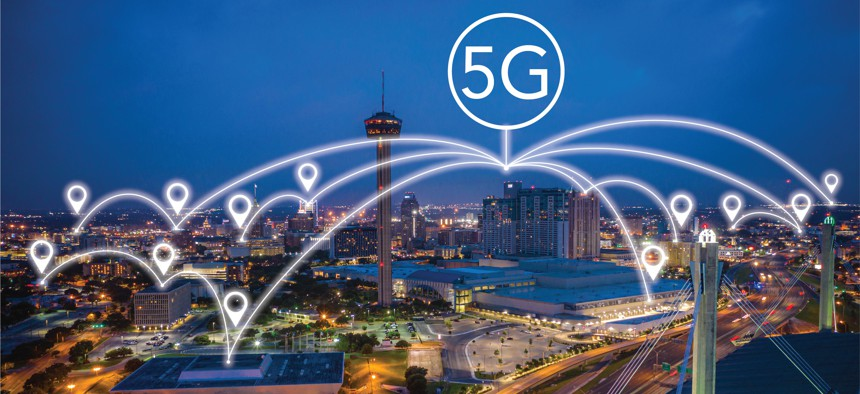 Joint Base San Antonio is one of 12 select installations where the department will experiment and test fifth-generation, or 5G, communications technology.