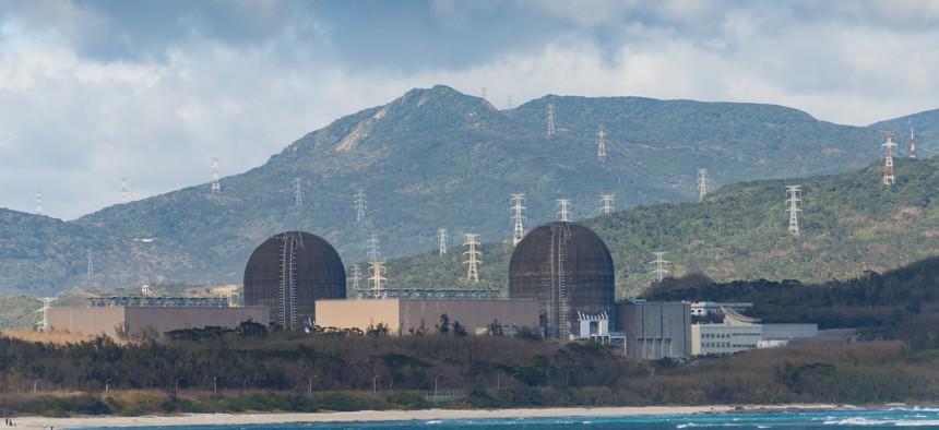 Maanshan Nuclear Power Plant in Hengchun Township, Taiwan.