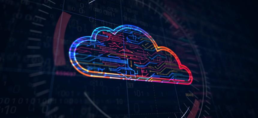 Cyber cloud symbol , ... ]