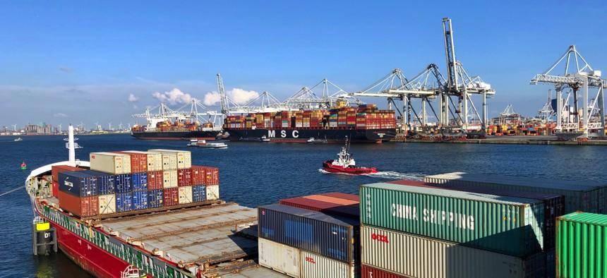 Port of Rotterdam, The Netherlands