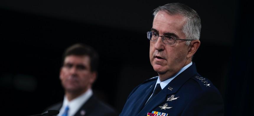 Vice Chairman of the Joint Chiefs of Staff Air Force Gen. John E. Hyten