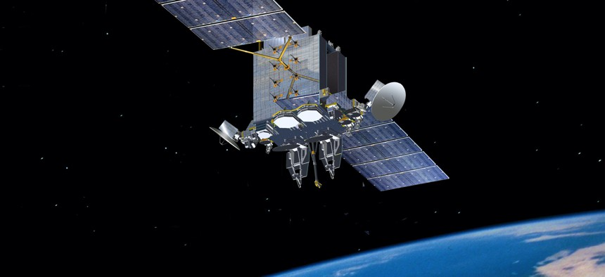 U.S. Air Force Advanced Extremely High Frequency communications satellite