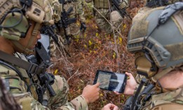 6th Special Operations Squadron during an exercise showcasing the capabilities of the ABMS at Duke Field, Fla., Dec. 17, 2019.