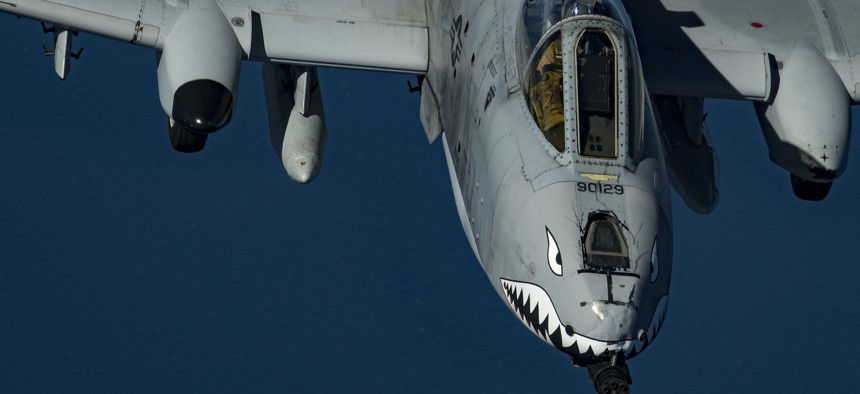 The U.S. Air Force is proposing to retired 42 of its A-10 Thunderbolt IIs.