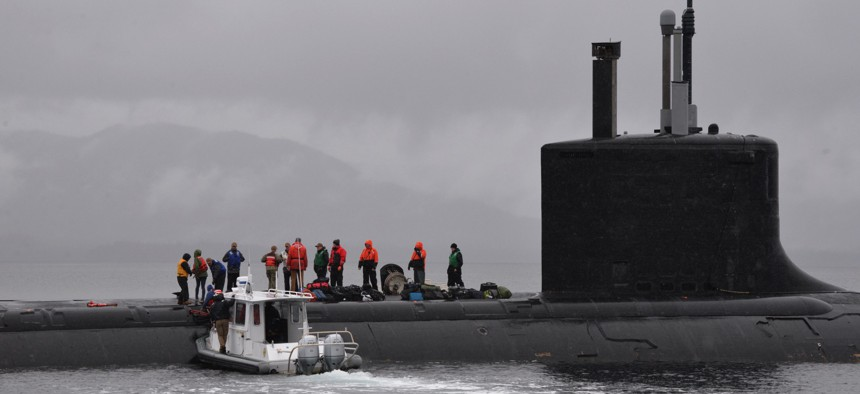The missile in question would launch from submarines such as the Virginia-class USS Texas (SSN 775).