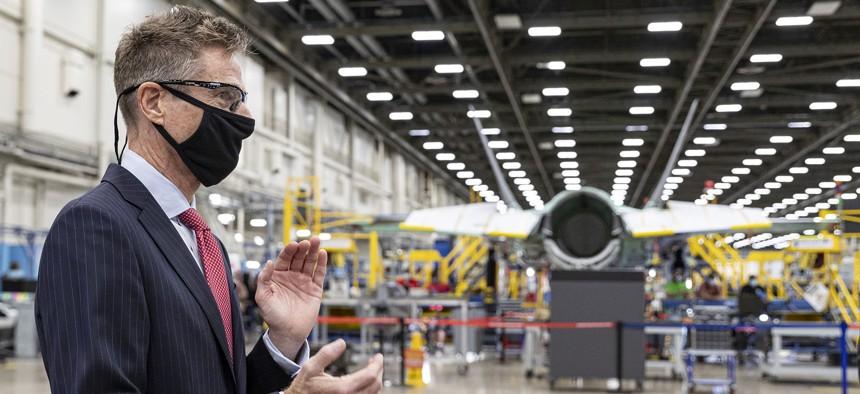Jim Taiclet, CEO of Lockheed Martin.