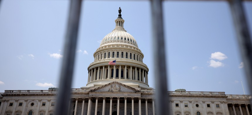 The U.S. Capitol Building on July 23, 2021.