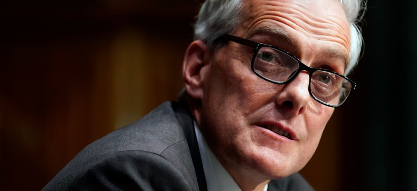 """""""Whenever a veteran or VA employee sets foot in a VA facility, they deserve to know that we have done everything in our power to protect them from COVID-19,"""" says VA Secretary Denis McDonough."""