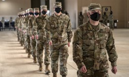 U.S. Air Force basic military graduation Apr. 16, 2020, at the 320th Training Squadron's Airman Training Complex on Joint Base San Antonio-Lackland, Texas.