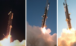 """Three Navy launches from NASA's Wallops Flight Facility in Virginia reached hypersonic speeds Oct. 20, 2021, as part of a """"High Operational Tempo for Hypersonics flight campaign."""""""