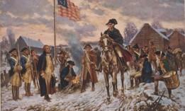 Washington at Valley Forge, by E. Percy Moran.
