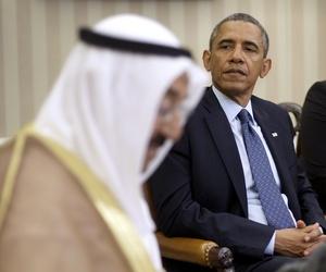 President Obama with Kuwait's Amir