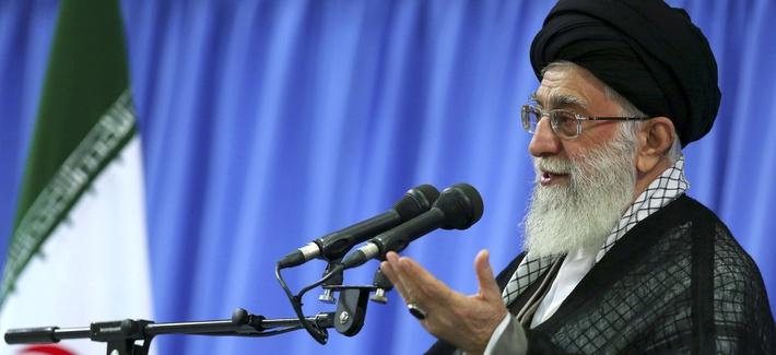 Iran's Supreme Leader Ayatollah Ali Khamenei, pictured on Sept. 17, 2013.