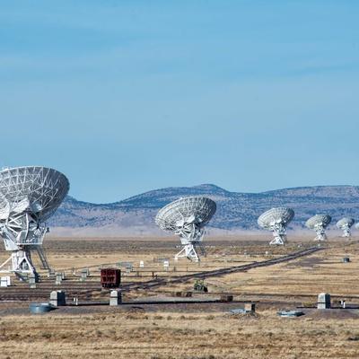 Shutdown Shutters Very Large Array Radio Telescope ...