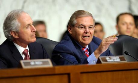 Sen. Robert Menendez, D-N.J., one of the sponsors of the forthcoming sanctions bill