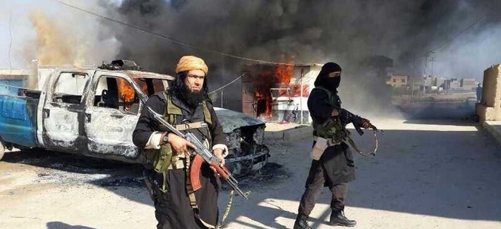 Shakir Waheib, a senior official in the Islamic State of Iraq and the Levant, in the Anbar Province in Iraq