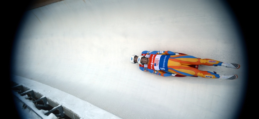 U.S. Army Sgts. Matt Mortensen and Preston Griffall, pictured here at December's Olympic trials in Park City, Utah, will compete at the 2014 Sochi Olympics for Team USA.