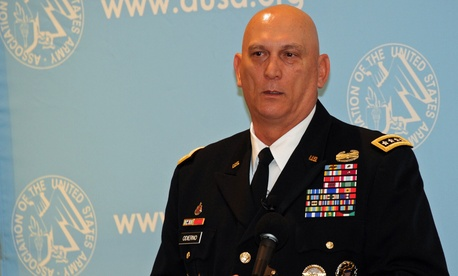 Army Chief of Staff Gen. Ray Odierno speaking at a breakfast hosted by AUSA