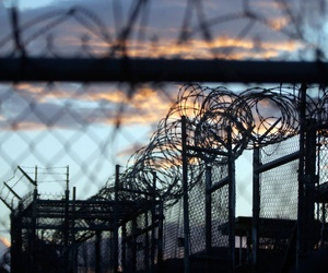 Camp X-Ray, which was used as the first detention facility for al-Qaida and Taliban militants who were captured after the Sept. 11 attacks at Guantanamo Bay Naval Base, Cuba.
