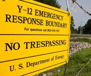 The Y-12 National Security Complex in Oak Ridge, Tenn., processes plutonium.